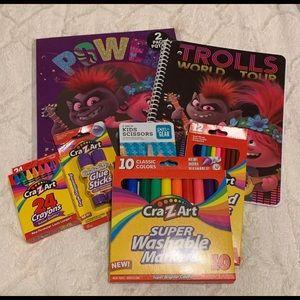 Trolls World Tour School Supples